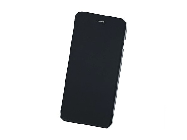 Чехол-книжка для IPhone 6+/7+/8+ BoraSCO Book Case Black флип, кожзаменитель, пластик kalaideng car mounted special back cover case holder for iphone 6 black