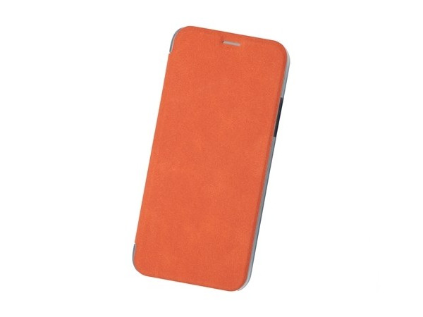 Чехол-книжка для IPhone X/ Xs BoraSCO Book Case Orange флип, кожзаменитель, пластик bluetooth fingertip pulse oximeter orange white 2 x aaa