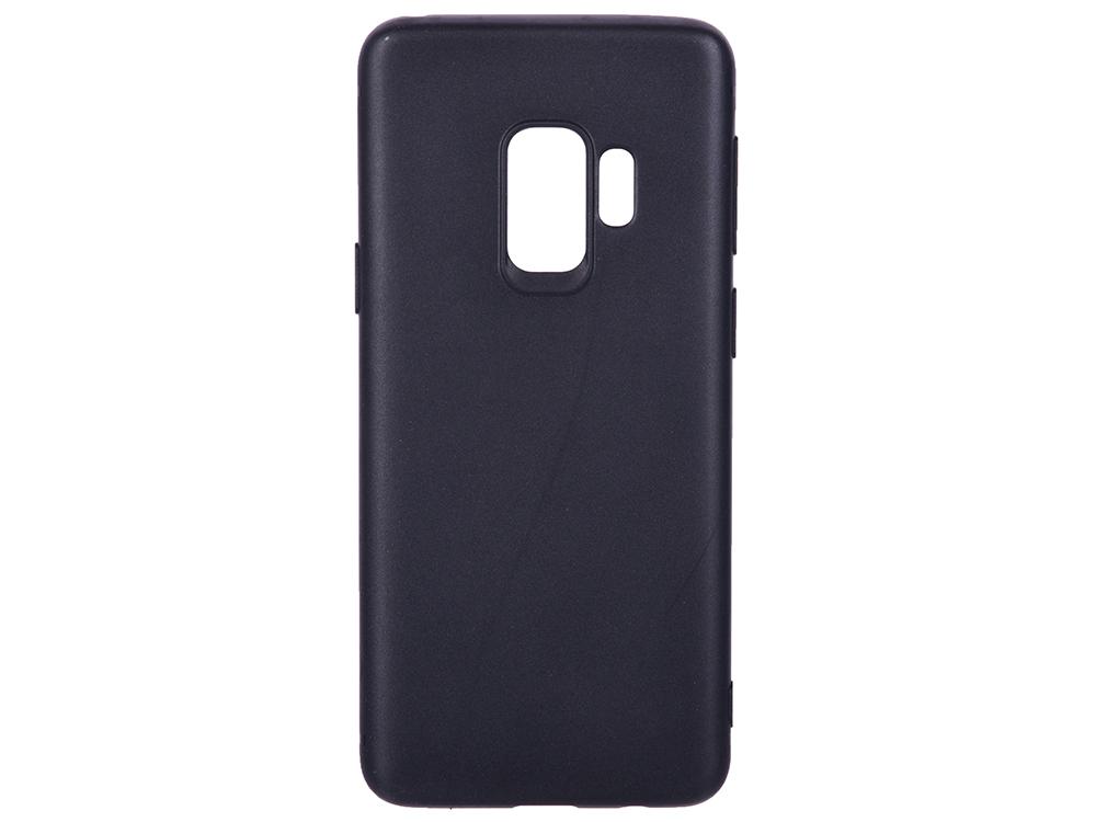 Чехол-накладка для Samsung Galaxy S9 BoraSCO Mate Black клип-кейс, поликарбонат чехол накладка для samsung galaxy j8 samsung dual layer cover black клип кейс полиуретан поликарбонат