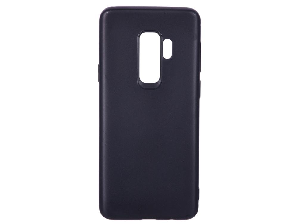 Фото - Чехол для Samsung Galaxy S9+ BoraSCO Mate Black Поликарбонат samsung galaxy tab e sm t561 black