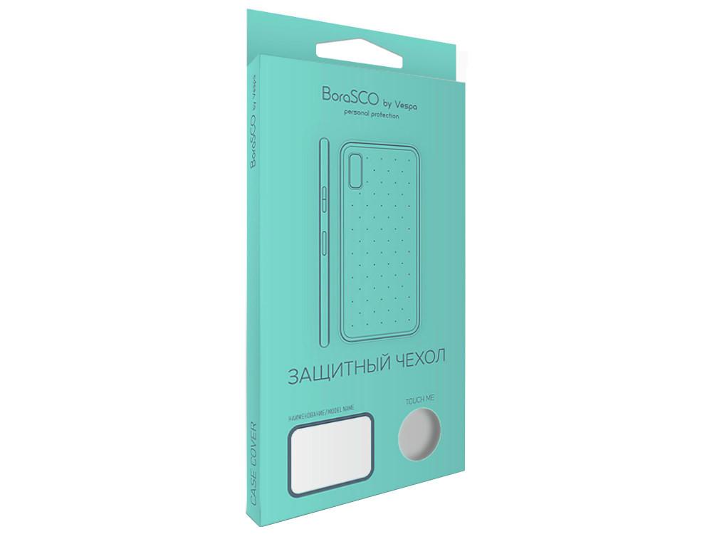 Чехол-накладка для Samsung Galaxy A6 BoraSCO клип-кейс, силикон пластиковая накладка borasco 0 5 мм для samsung galaxy s7 g930 прозрачная