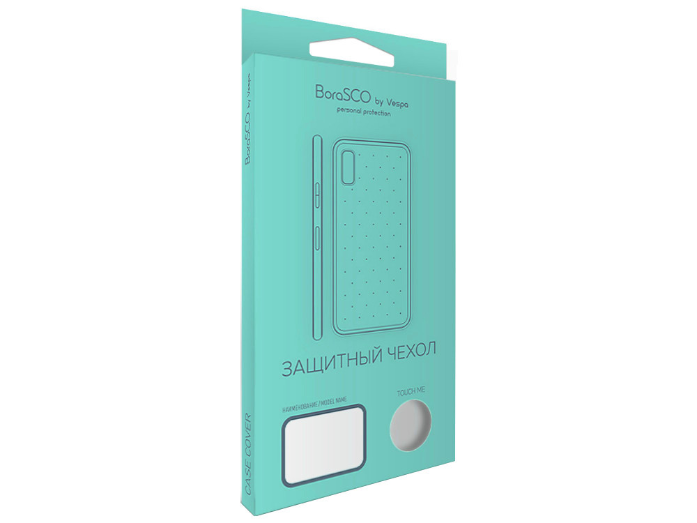 Чехол-накладка для Samsung Galaxy J4 BoraSCO клип-кейс, прозрачный силикон пластиковая накладка borasco 0 5 мм для samsung galaxy s7 g930 прозрачная