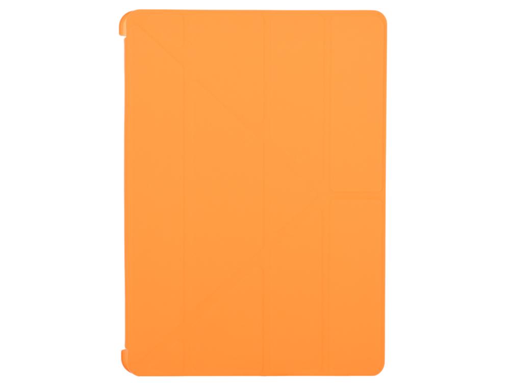 Чехол-книжка для iPad Air 2 BoraSCO Orange флип, кожзаменитель, пластик enkay enk 3504 ultra thin protective pu case w 3 fold stand auto sleep for ipad air 2 orange