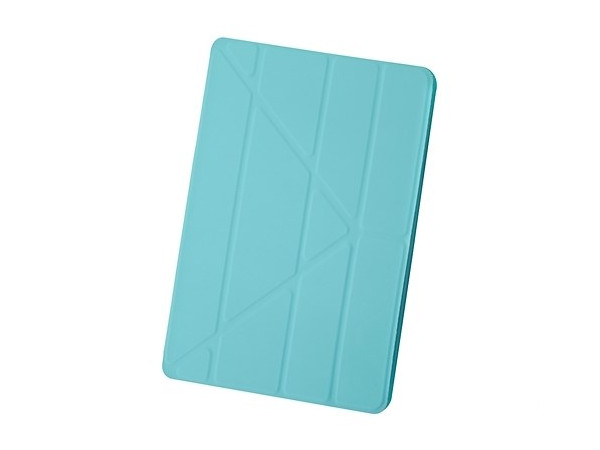 Чехол-книжка для iPad Air 2 BoraSCO Blue флип, пластик bluetooth wireless 64 key keyboard w stand for ipad air air 2 ipad 1 2 silver