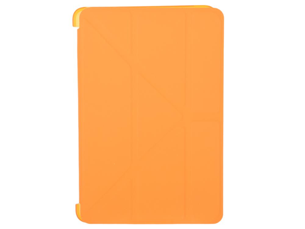 цена Чехол-книжка для iPad mini 4 BoraSCO Orange флип, искусственная кожа