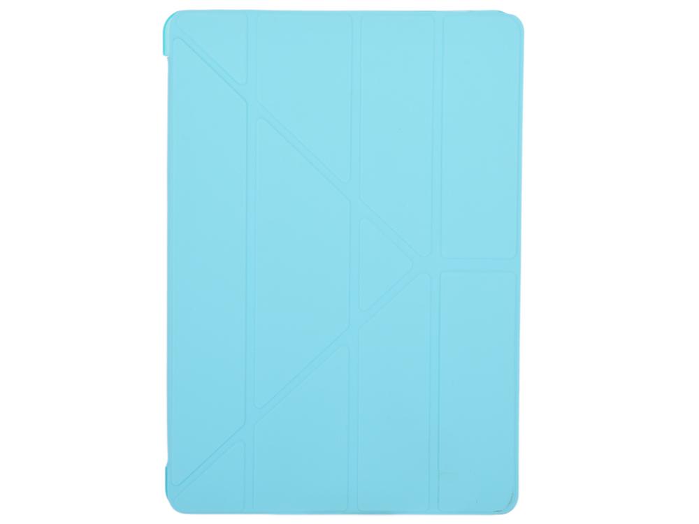 Чехол-книжка для iPad Pro 10,5 BoraSCO Blue флип, искусственная кожа чехол just mobile tenc для ipad pro 12 9