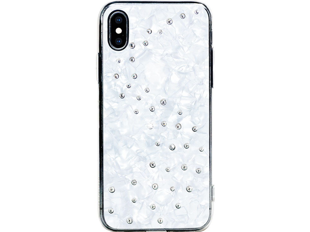 Чехол Bling My Thing для iPhone XS/X, с кристаллами Swarovski. Материал пластик. Коллекция Milky Way, Дизайн Pure Brilliance alexander nevzorov my bam dusse alin 1980 1982 isbn 9785449038470