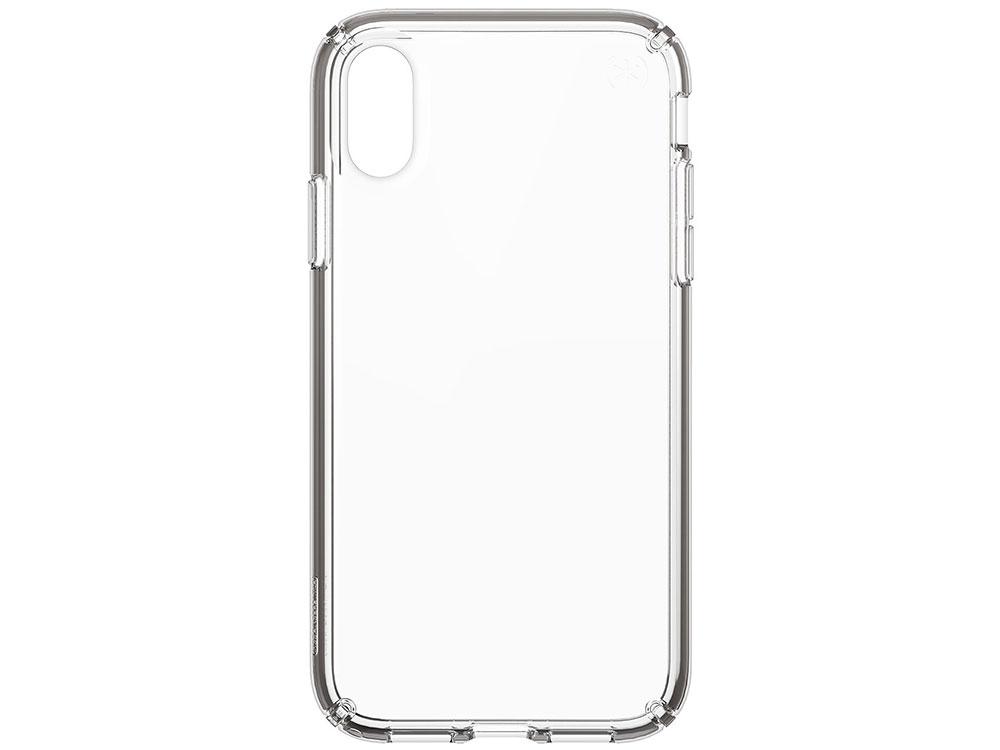 Чехол Speck Presidio Stay Clear для iPhone XR. Материал пластик. Цвет прозрачный. аксессуар чехол 13 0 speck presidio clear для apple macbook pro 13 transparent 91219 5085