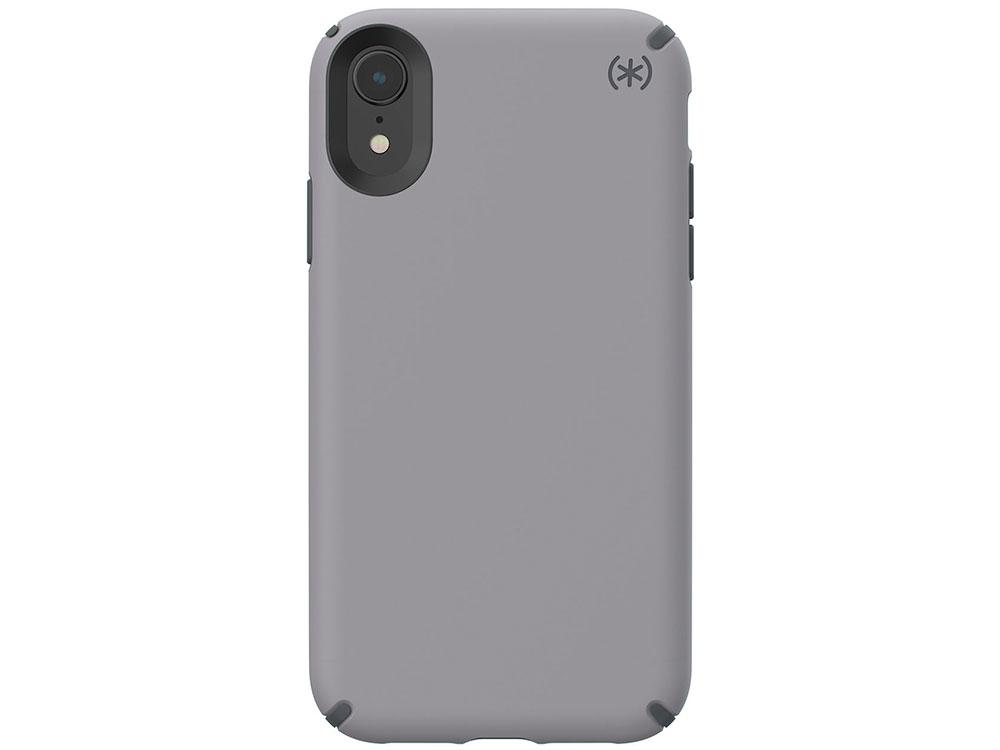 Чехол Speck Presidio Pro для iPhone XR. Материал пластик. Цвет серый. аксессуар чехол macbook pro 13 speck seethru pink spk a2729