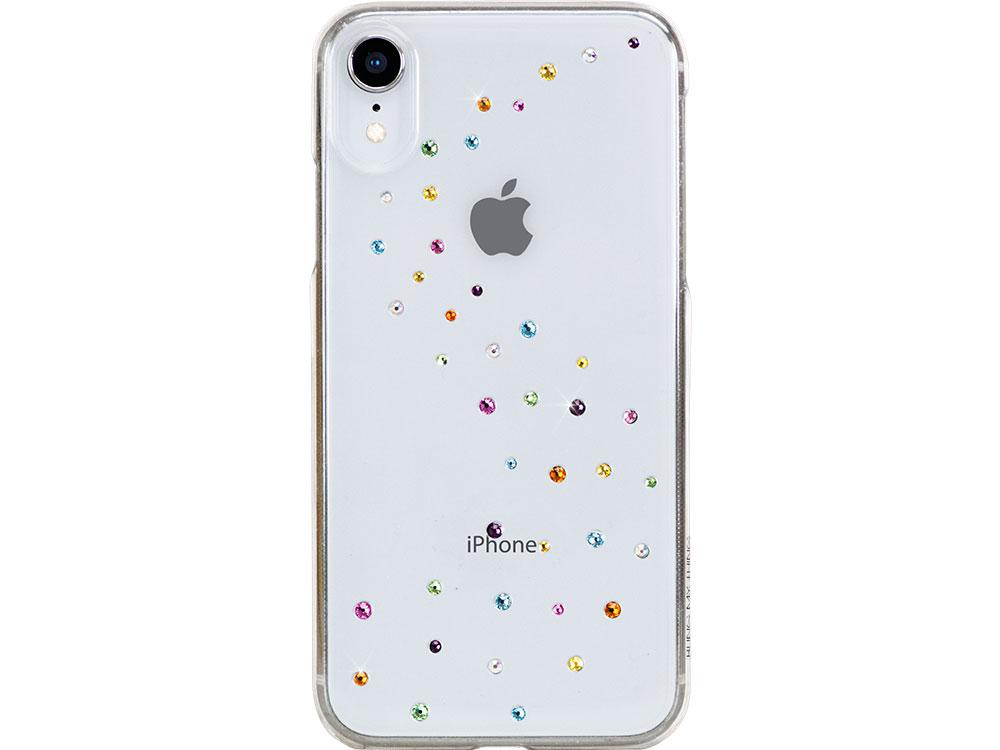 Чехол Bling My Thing для iPhone XR с кристаллами Swarovski. Коллекция Milky Way. Дизайн Cotton Candy