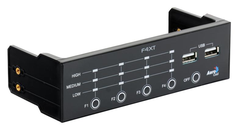 Контроллер вентиляторов Aerocool F4XT