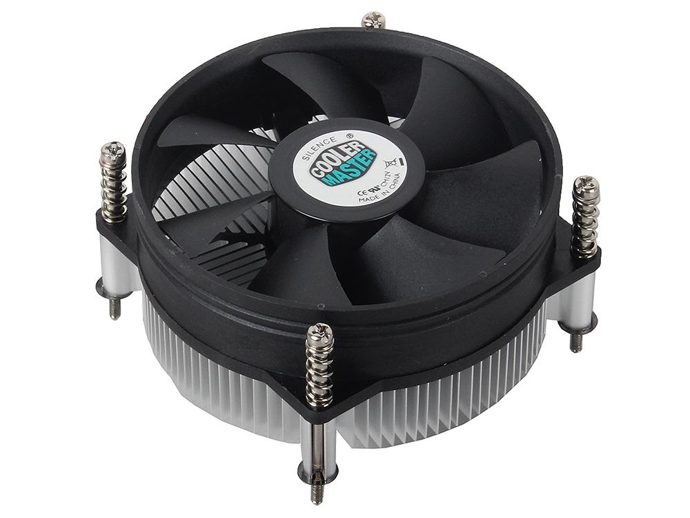 Кулер для процессора Cooler Master for Intel DP6-9EDSA-0L-GP для LGA1156, 3 пин, TDP 73-84 Вт, алюминиевый радиатор, винты, вентилятор 95x95x25 мм, 2600 об/мин compatible tlplv6 for toshiba tdp s8 tdp t8 tdp t9 tdp s8 tdp t8 tdp t9 projector lamp bulb p vip 200 1 0 e17 5