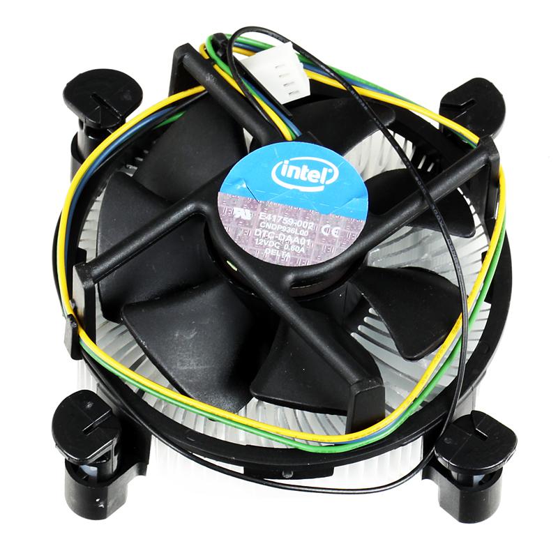 Кулер для процессора Intel ORIGINAL s1156 ( Al ) - 80W