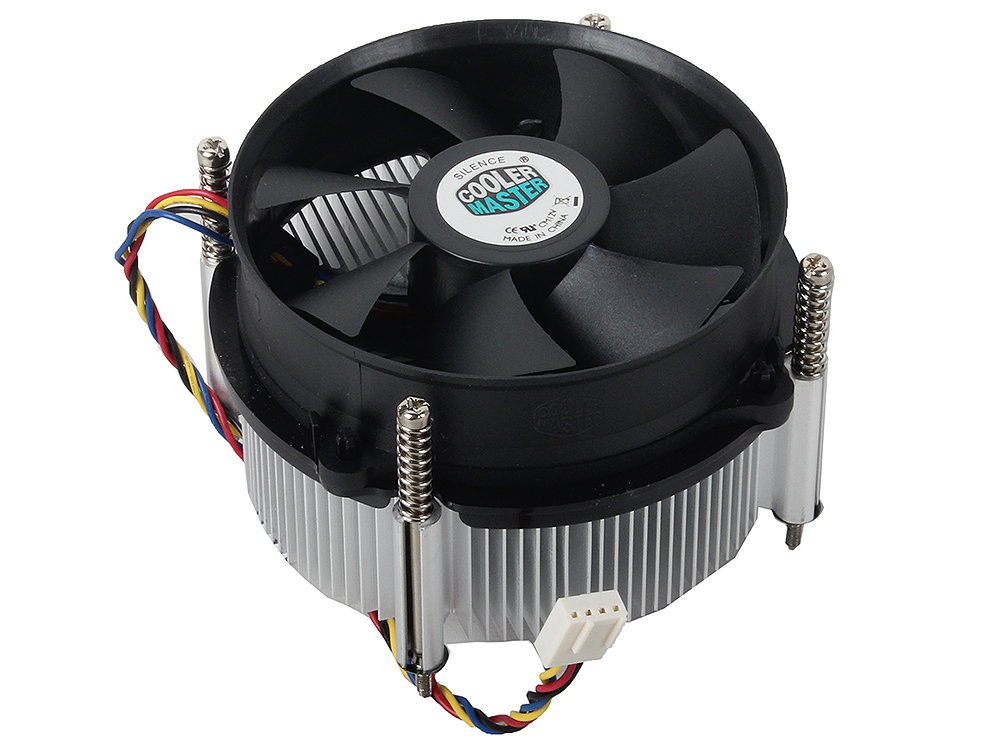 Кулер для процессора Cooler Master CP6-9HDSA-PL-GP 1150/1155/1156 fan 9 cm, 800-4200 RPM, 45 CFM, TDP 130W compatible projector lamp shp113 tlp lw15 for toshiba tdp ew25 tdp ew25u tdp ex21 tdp sb20 tdp st20 tdp ex20 tdp ex20u tlplw15