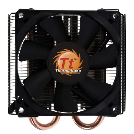 Кулер для процессора Thermaltake SlimX3 CLP0534 (775/1156) 8 см 1200-2400 RPM