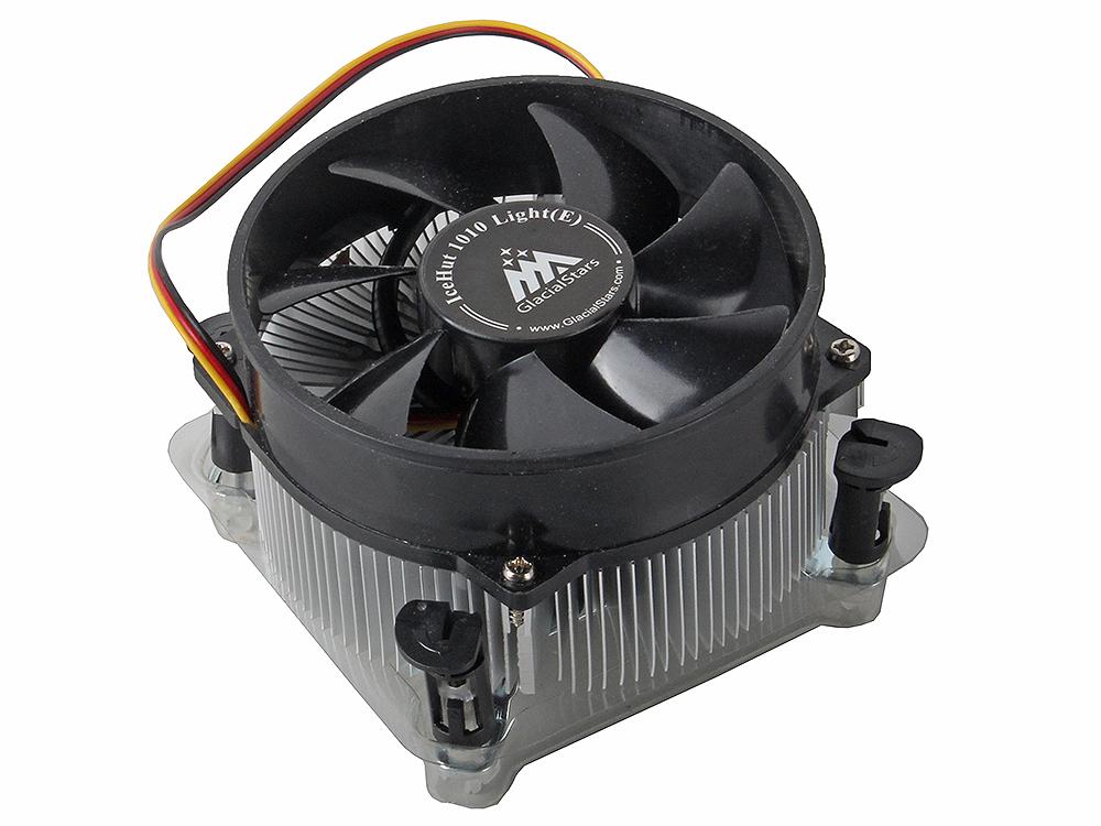 Кулер для процессора GlacialTech IceHut 1010 Light Intel s1156, 1155/ 82W/ 2100RPM/ 25dBa/ втулка/ ОЕМ/ 1.92W