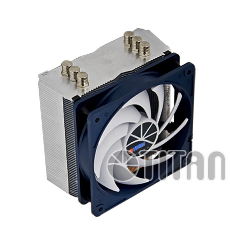 Кулер для процессора TITAN TTC-NC15TZ/KU(RB) (1366/1156/1155/775/AM3/AM2+/AM2/K8)* кулер titan ttc nk35tz rpw ku