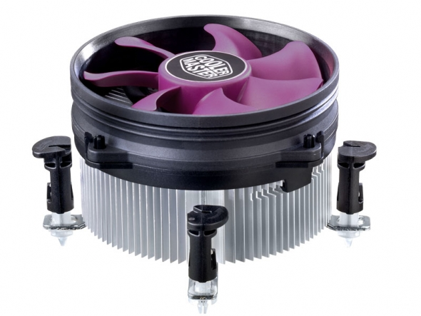 Кулер для процессора Cooler Master X Dream i117/ s.1155, 1156, 775/ TDP 95W/ 1800rpm/ 19dBA/ push-pin/ 3pin/ ret 4 pin push tactile switches 140 pcs