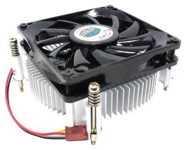 Кулер для процессора Cooler Master DP6-8E5SB-0L-GP 1150/1155/1156 alluminium/ low profile 38mm/ TDP 82W/ 2600 rpm/ rtl кулер для процессора glacialtech icehut 1010 silent 1150 1156 1155 82w 1500rpm 20dba втулка оем 1 08w