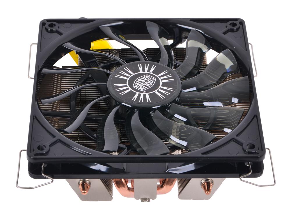 цены на Кулер для процессора Cooler Master GeminII M4 (RR-GMM4-16PK-R1) 1366/1156/1150/1155/775/FM1/AM3+/AM3/AM2+/AM2 fan 12 cm, 500-1600 RPM, PWM, 58 CFM, TPD 140W в интернет-магазинах