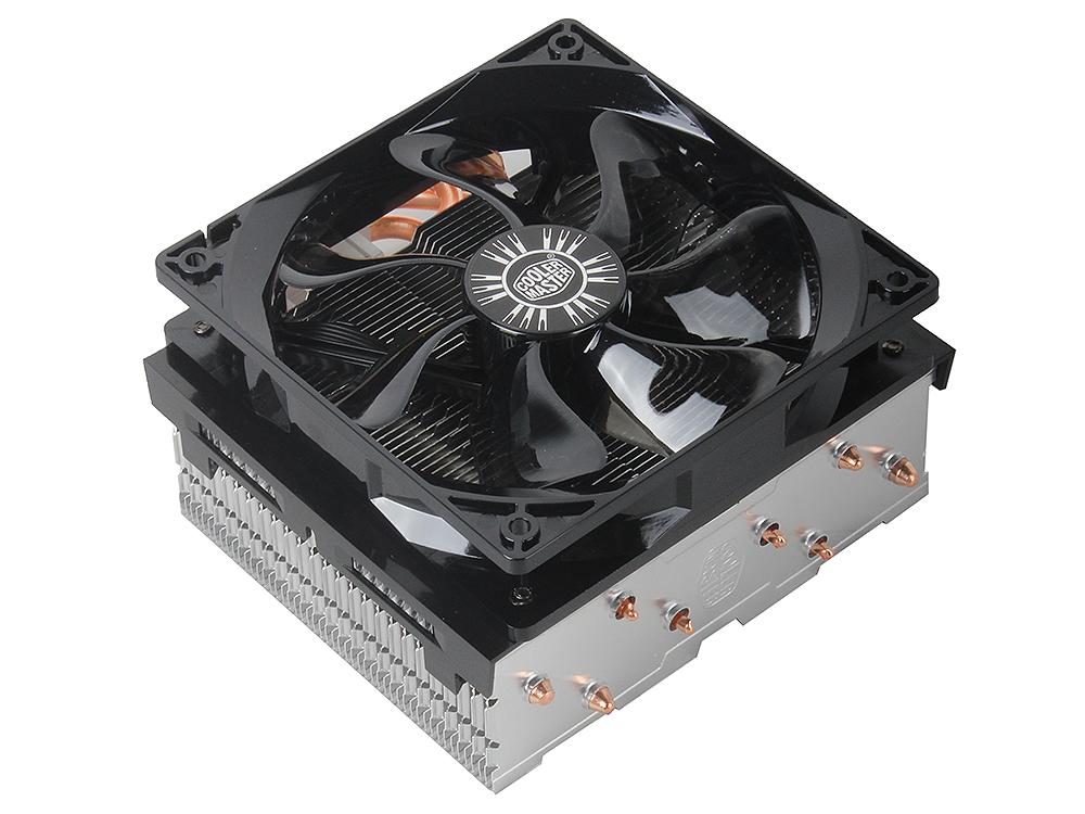 Кулер для процессора Cooler Master Hyper T4 (RR-T4-18PK-R1) 2011/1156/1150/1155/775/FM1/AM3+/AM3/AM2+/AM2 fan 12 cm, 600-1800 RPM, PWM, 78 CFM, TPD 160W кулер cooler master dk9 8gd2a 0l gp