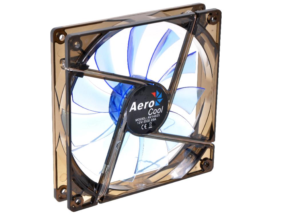 Вентилятор Aerocool Lightning 14см