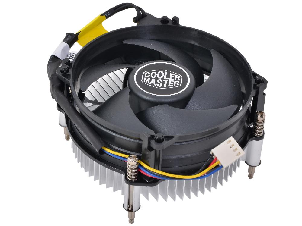 Кулер для процессора Cooler Master Blizzard X115 socket 1150/1155/1156 RR-X115-40PK-R1 термопаста cooler master ic essential e1 rg ice1 tg15 r1 3 4 г серая