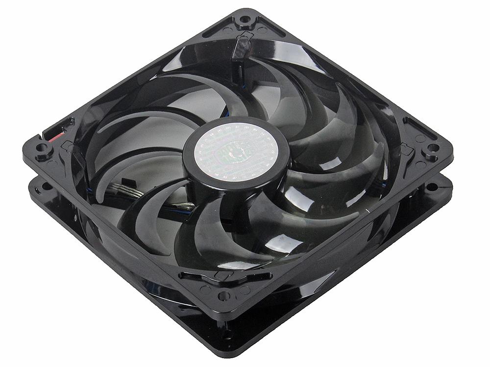Вентилятор Cooler Master SickleFlow 120 Green (R4-L2R-20AG-R2) 120x120x25 мм вентилятор cooler master mf121l rgb led fan r4 c1ds 12fc r2 120x120x25mm 1200rpm