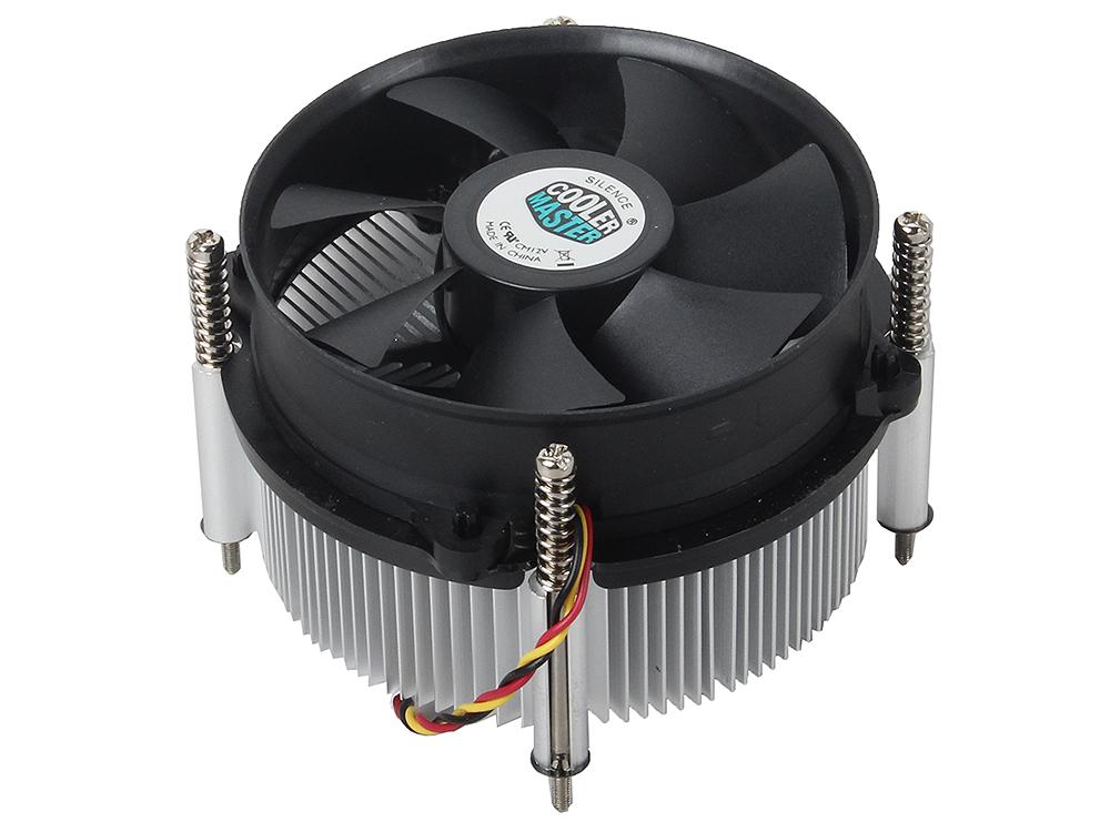 Кулер для процессора Cooler Master CP6-9HDSA-0L-GP 1150/1155/1156 кулер для процессора cooler master cp6 9hdsa 0l gp socket 1156 1155
