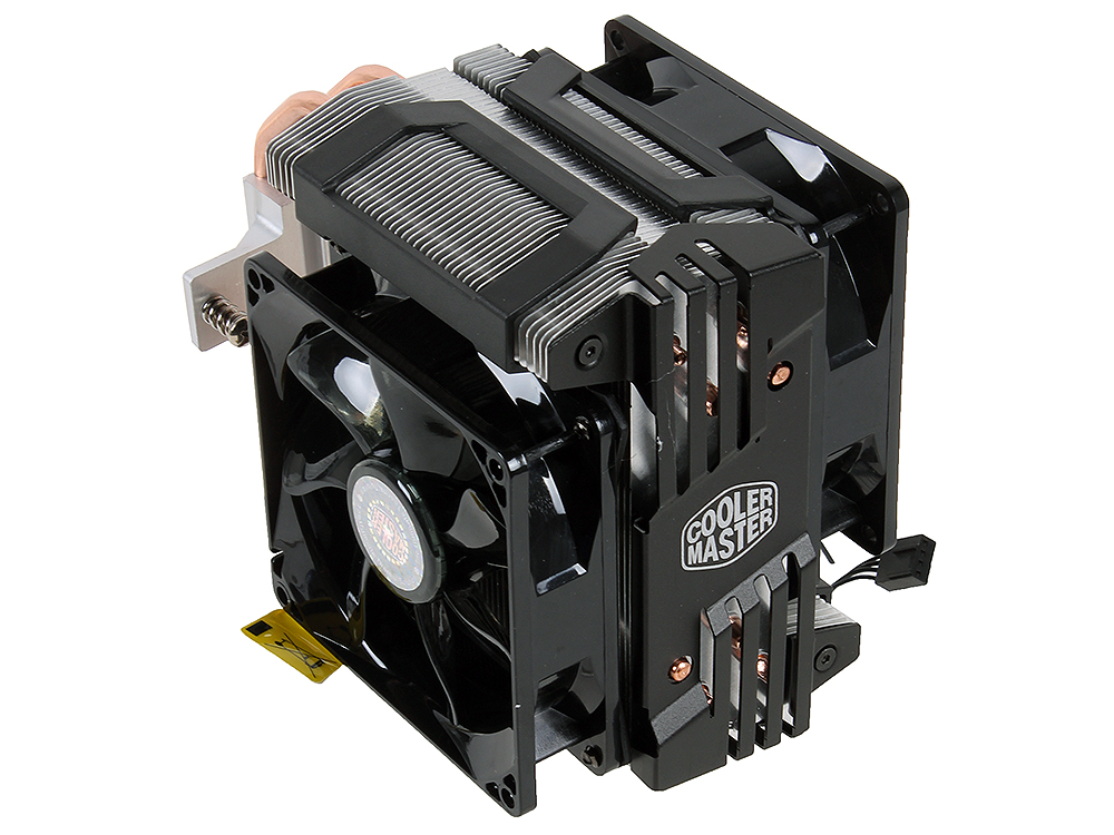 Кулер для процессора Cooler Master Hyper D92 (RR-HD92-28PK-R1) универсальный fan 92 mm, 800-2800 RPM, PWM, 54.8 CFM, TPD 250W 20pcs free shipping d92 02 esad92 02 commonly used welding new original