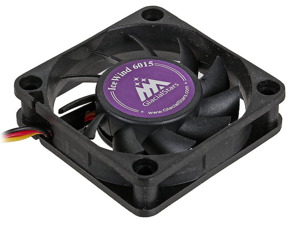 Вентилятор Glacialtech IceWind 6015 60x60x15 3pin+4pin (molex) 25dB 36g BULK