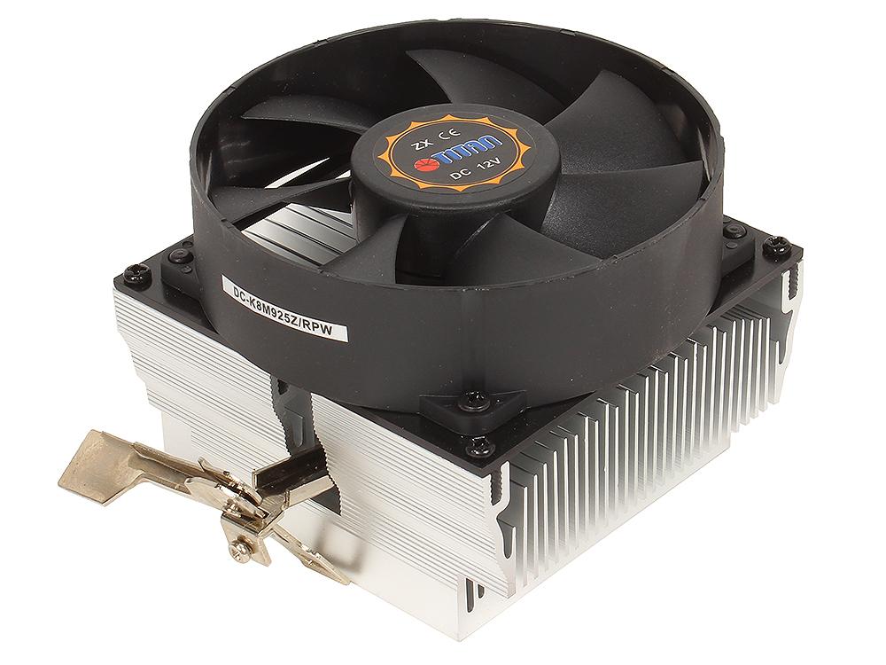 Кулер для процессора TITAN DC-K8M925Z/RPW до 110W, для AMD K8/AM2/AM2+/AM3/AM3+/FM1/FM2, 92x92x56, 3-PIN, 2250 RPM,