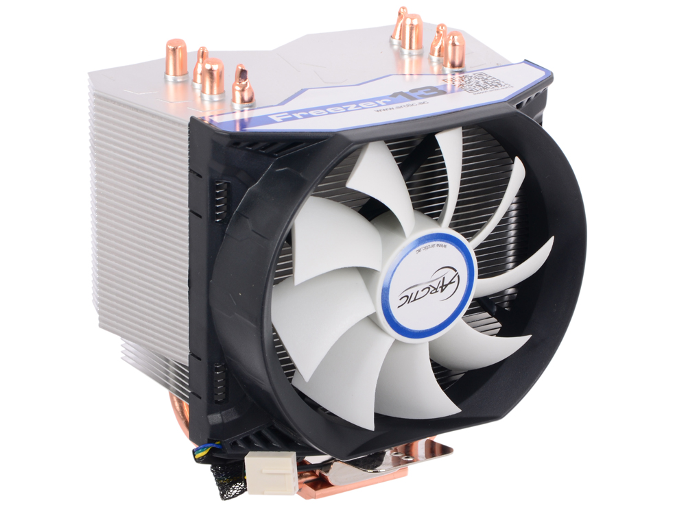 Кулер для процессора ARCTIC Freezer 13 (socket 1366, 1156, 775; socket AM3, AM2+, 939 and 754) Up to 200 Watts (UCACO-FZ130-BL)
