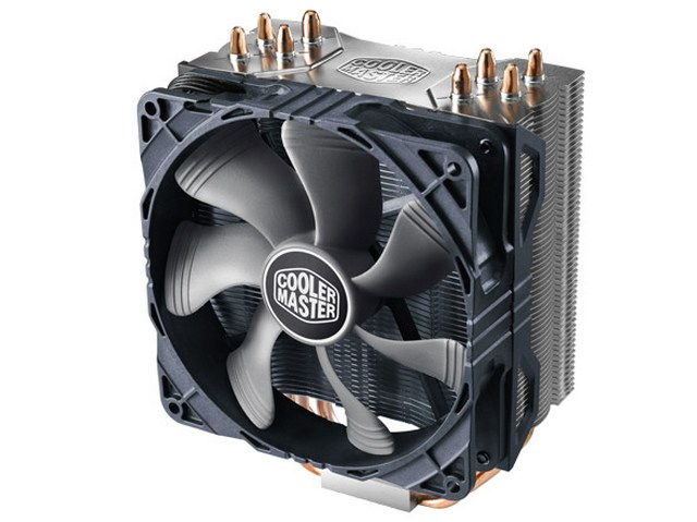 Кулер Cooler Master Hyper 212X (RR-212X-17PK-R1) 2011-3/2011/1366/1156/1155/1151/1150/ 775/FM2+/FM2/FM1/AM3+/AM3/AM2+/AM2 fan 12 cm, 600-2000 RPM, 82. кулер thermalright macho rev b intel lga775 lga1150 1151 1155 1156 lga1356 1366 lga2011 2011 3 amd am2 am2 am3 am3 fm1 fm2 fm2
