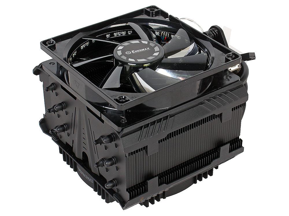 Кулер Enermax ETS-T50A-BVT , TDP 250W, PWM, LGA 775/115X/1366/2011/2011-3, AMD AM2/AM2+/AM3/AM3+/FM1/FM2/FM2+