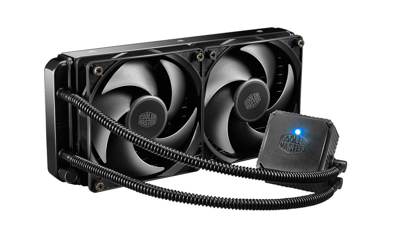 Система водяного охлаждения Cooler Master Seidon 240V (RL-S24V-24PK-R1) 2011-v3/2011/115/1150/1155/1156/1366/775/AM3+/AM3/AM2+/AM2/FM2+/FM2/FM1 thermalright le grand macho rt computer coolers amd intel cpu heatsink radiatorlga 775 2011 1366 am3 am4 fm2 fm1 coolers fan