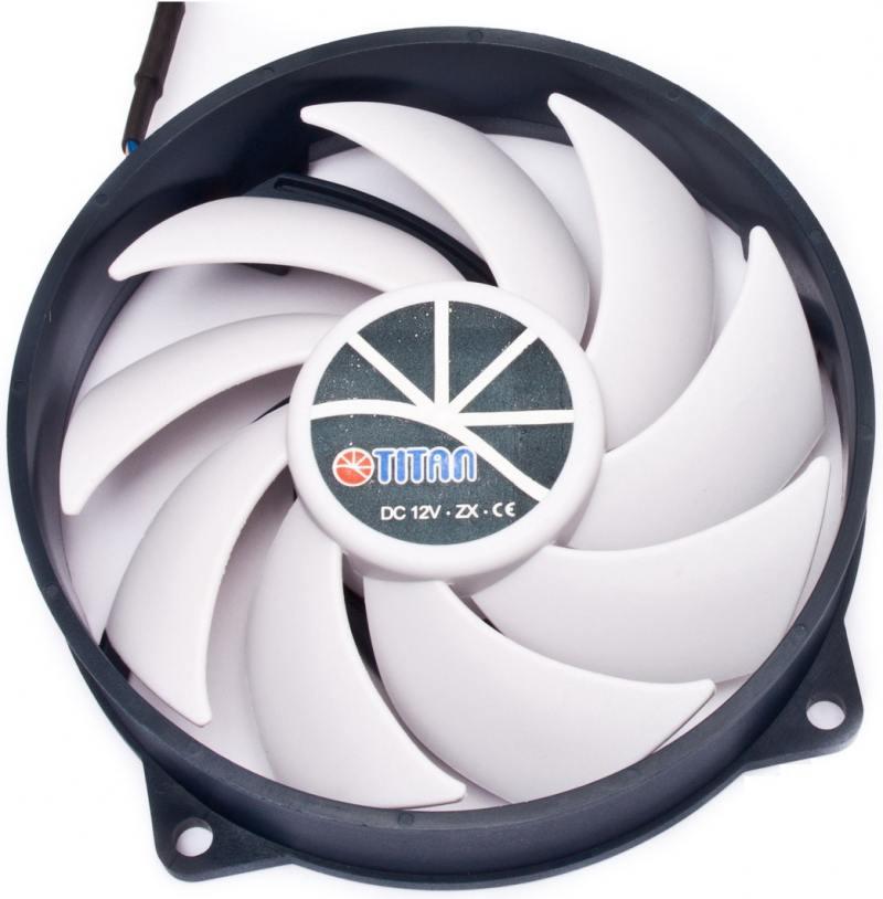 все цены на Вентилятор Titan TFD-9525H12ZP/KU(RB) 900-2600rpm 92mm PWM