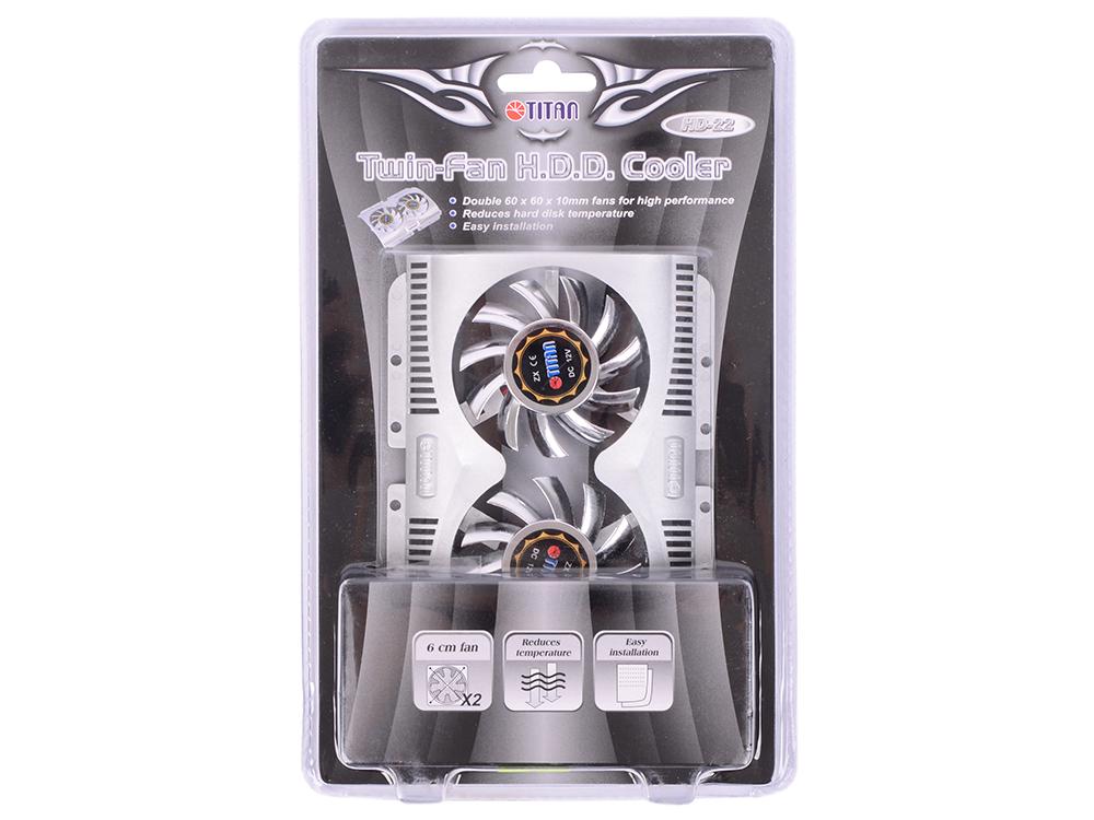 Кулер для HDD Titan TTC-HD22TZ titan ttc nk96tz npw