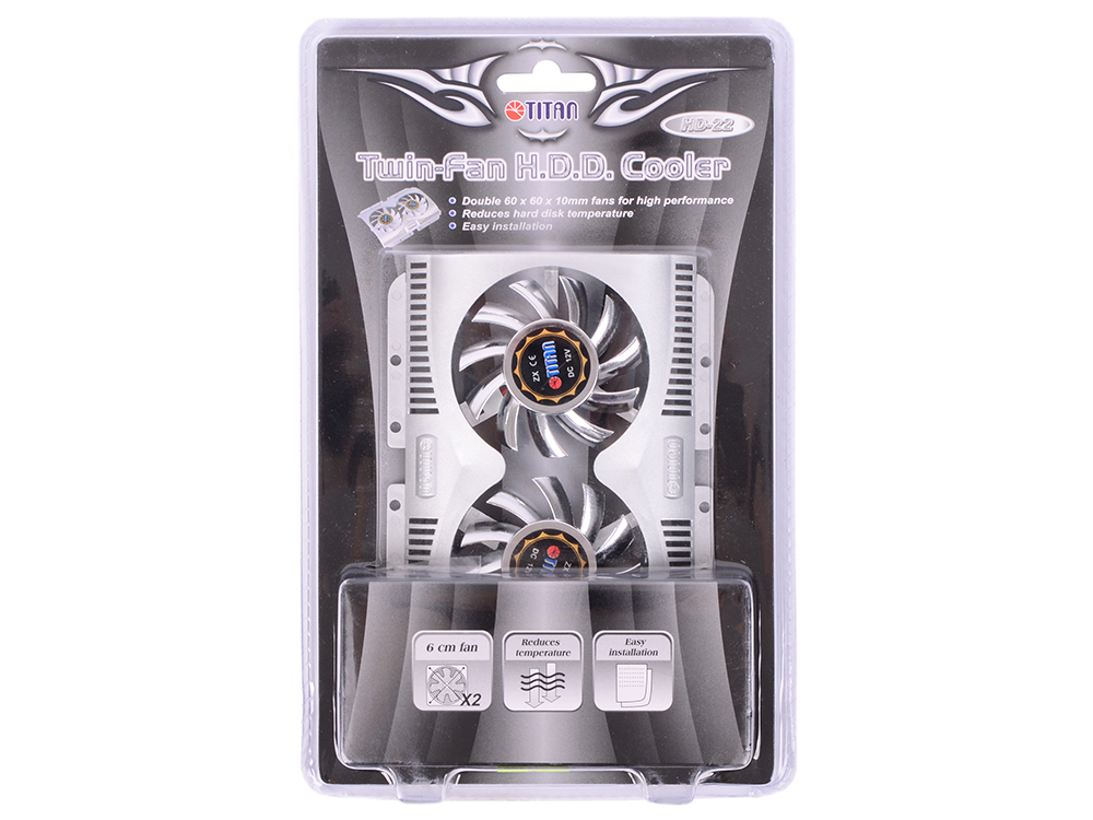 Кулер для HDD Titan TTC-HD22TZ кулер smixx hd 1363b silver 02463