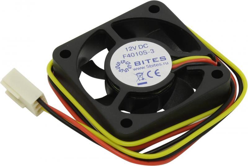 Вентилятор 5bites F4010S-2 40x40x10 2pin 22dB 5500rpm