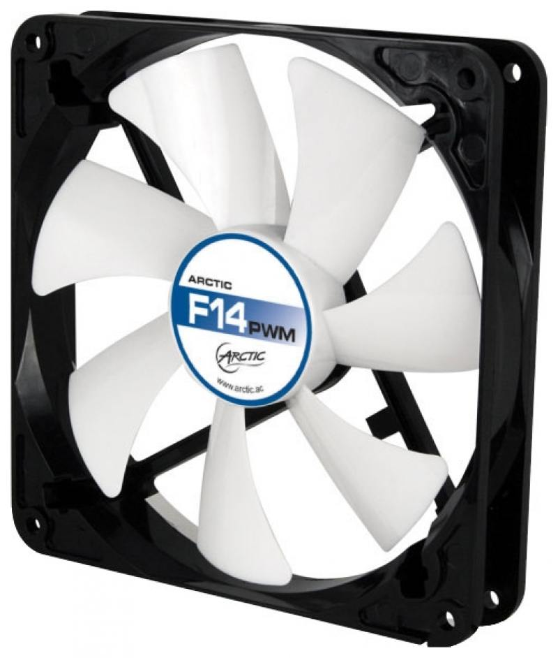 Вентилятор Arctic Cooling Arctic F14 140мм ACFAN00077A cooler for cpu arctic cooling freezer 33 tr white acfre00039a 2066 2011v3 am4