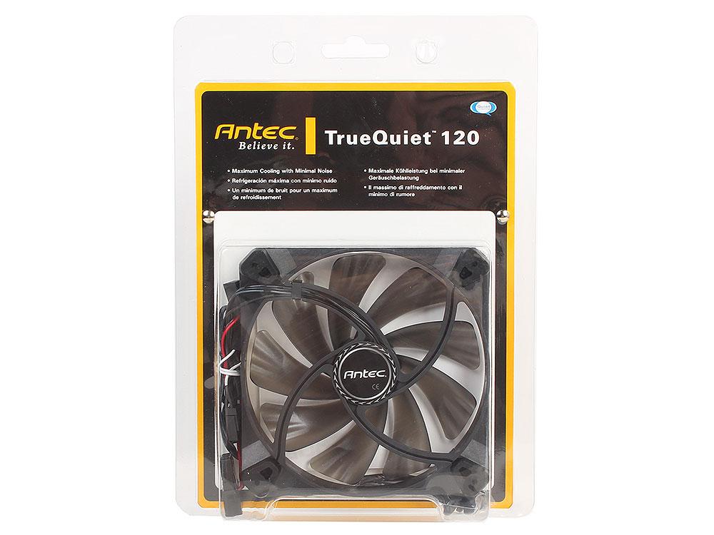 Вентилятор Antec TrueQuiet 120 , 120x120x25 мм, 600/1000 об.мин, 8,9/19,9 dBA