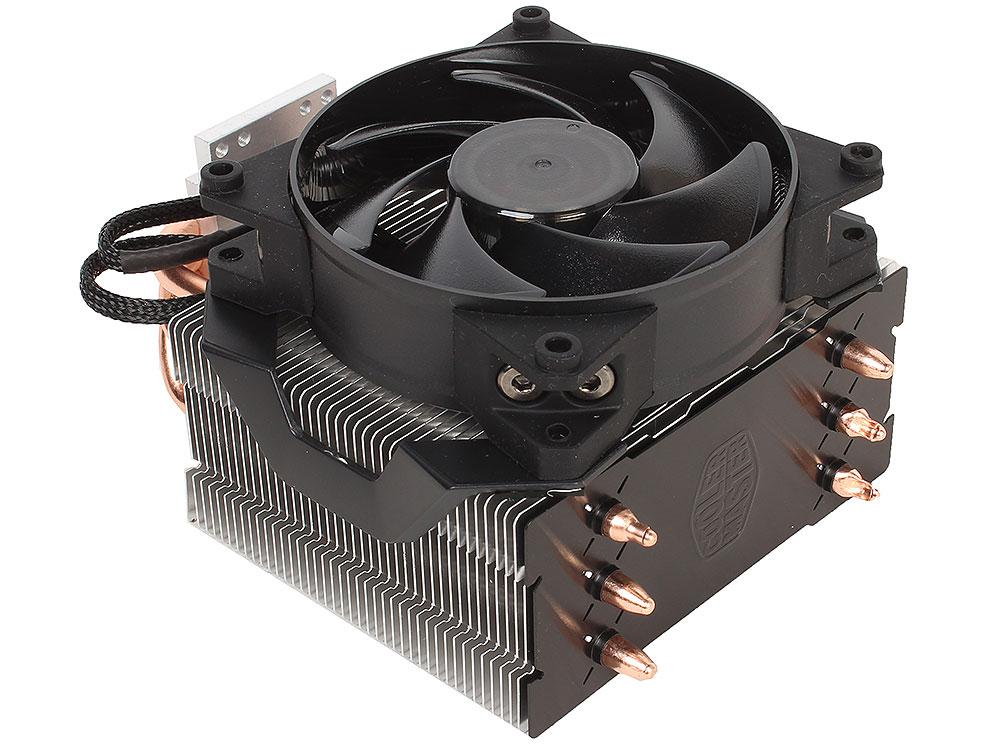 Кулер для процессора Cooler Master MasterAir Pro 3 (MAY-T3PN-930PK-R1) 2011-v3/2011/1366/1156/1155/1151/1150/775/AM4/AM3+/AM3/AM2+/AM2/FM2+/FM2/FM1 fan 9 cm, 650-300 alseye cpu cooler heatsink with 90mm led cpu fan tdp 95w 0 23a 2200rpm cooler for lga 1150 1151 1155 am2 am2 am3 am3 am4