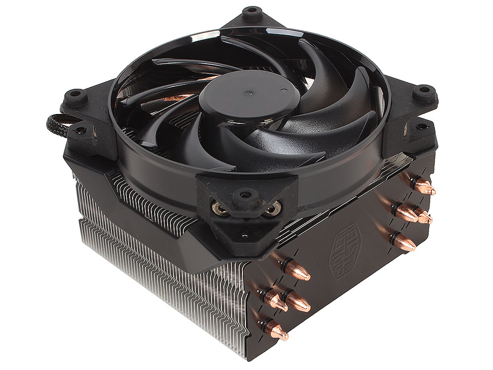 Кулер для процессора Cooler Master MasterAir Pro 4 (MAY-T4PN-220PK-R1) 2011-v3/2011/1366/1156/1155/1151/1150/775/AM4/AM3+/AM3/AM2+/AM2/FM2+/FM2/FM1 fan 12 cm, 650-20 pccooler 4 heatpipes radiator quiet 4pin cpu cooler heatsink fan cooling with 120mm fan for amd 754 939 940 am2 am2 am3 fm1 fm2
