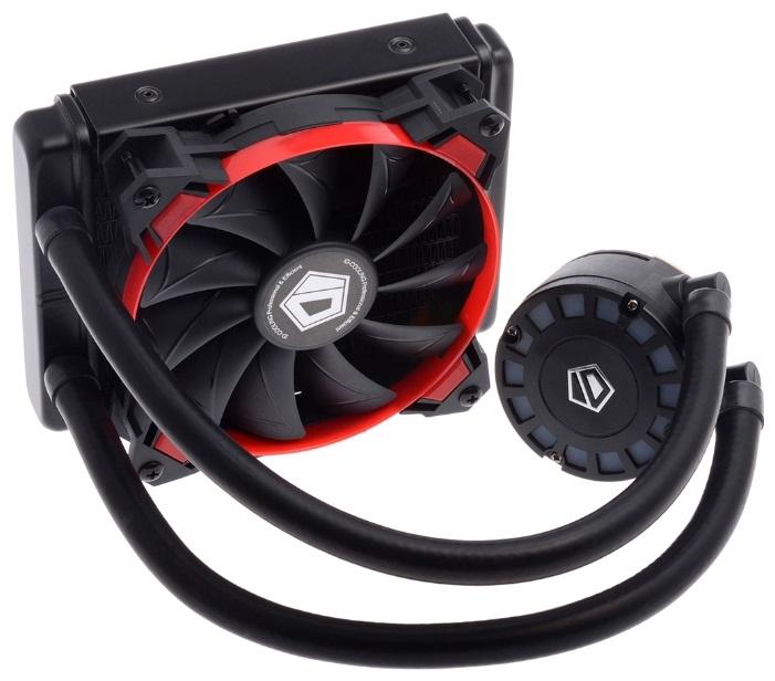 Система водяного охлаждения ID-Cooling FROSTFLOW 120L-R (Black/Red) 150W all Intel/AMD