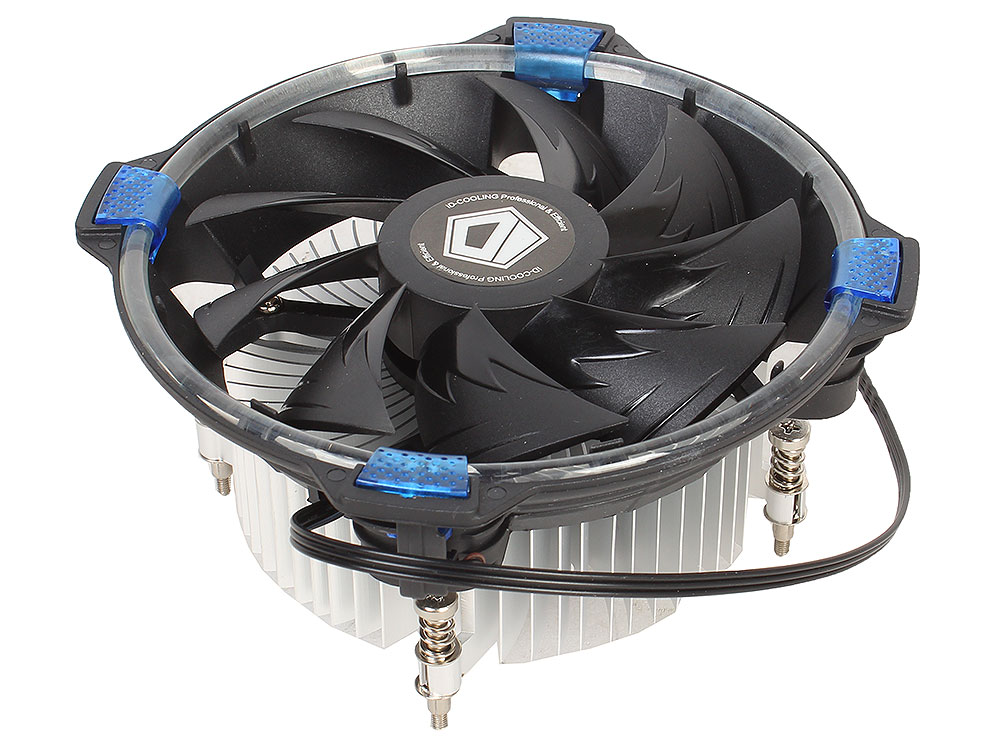 Кулер ID-Cooling DK-03 HALO LED Blue (100W/Blue LED/Intel 115*)