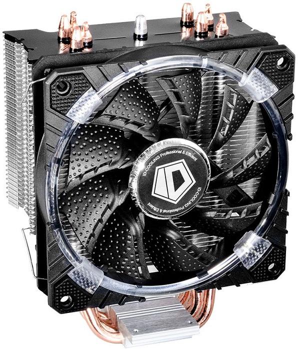 Кулер ID-Cooling SE-214C-W (130W/PWM/White LED/Intel 775,115*/AMD)