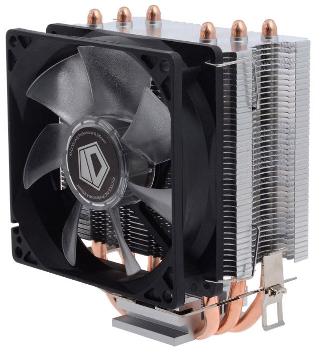Кулер ID-Cooling SE-903 (130W/PWM/Blue LED/Intel 775,115*/AMD)