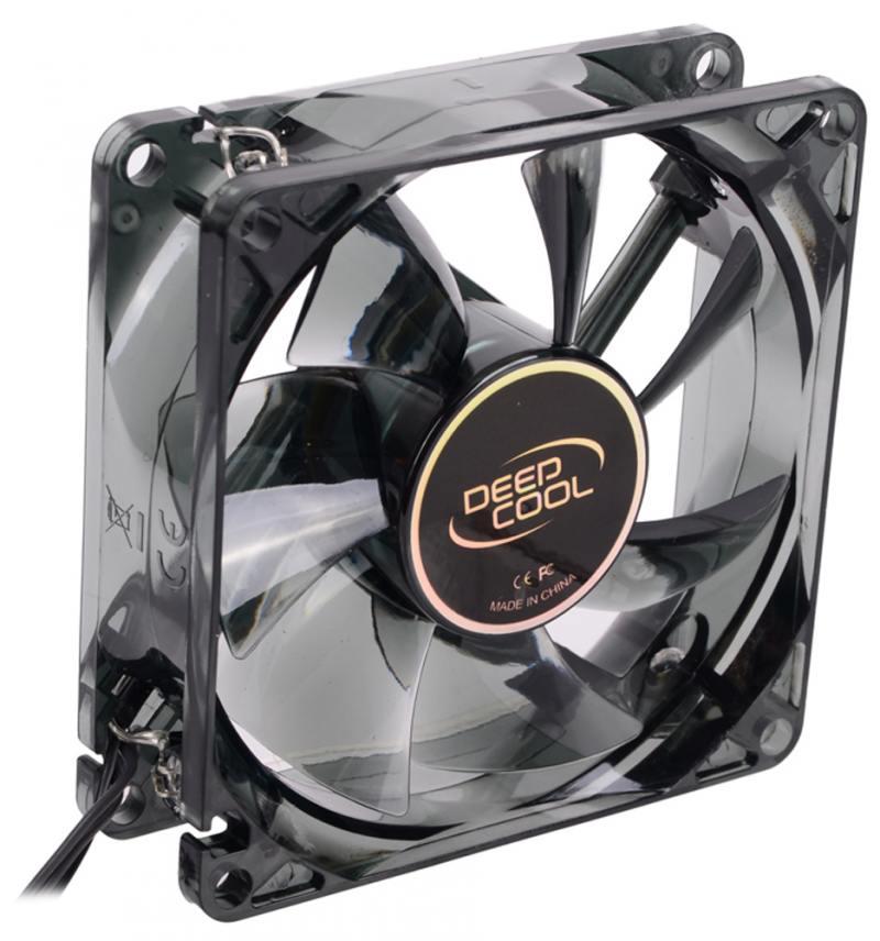 Вентилятор Deepcool WIND BLADE 80 White 80x80x25 3pin 20dB 1800rpm 60g белый LED