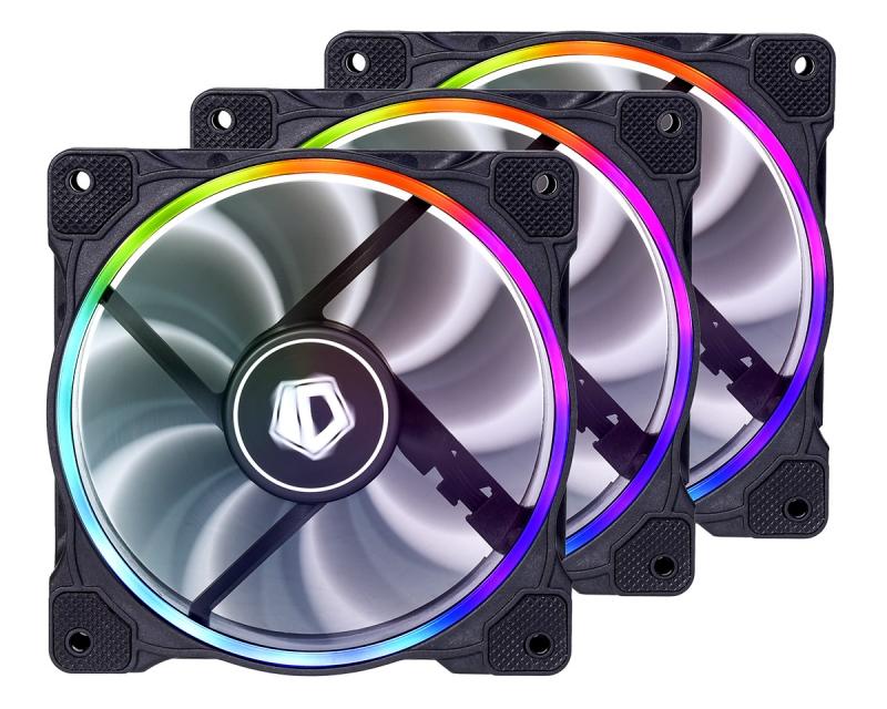 ZF-12025-RGB-TRIO aluminum alloy rgb memory cooling vest ram cooling shell heatsink rgb 265 light effect memory coolingi radiator glow for desktop
